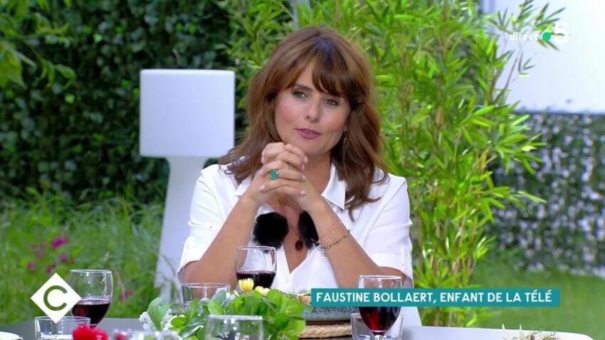 Faustine Bollaert : cette habitude qu'elle n'a pas voulu voler à Michel Drucker