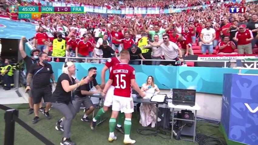 """""""Euro 2020"""" : cette grosse frayeur vécue par une journaliste après le but hongrois contre la France"""