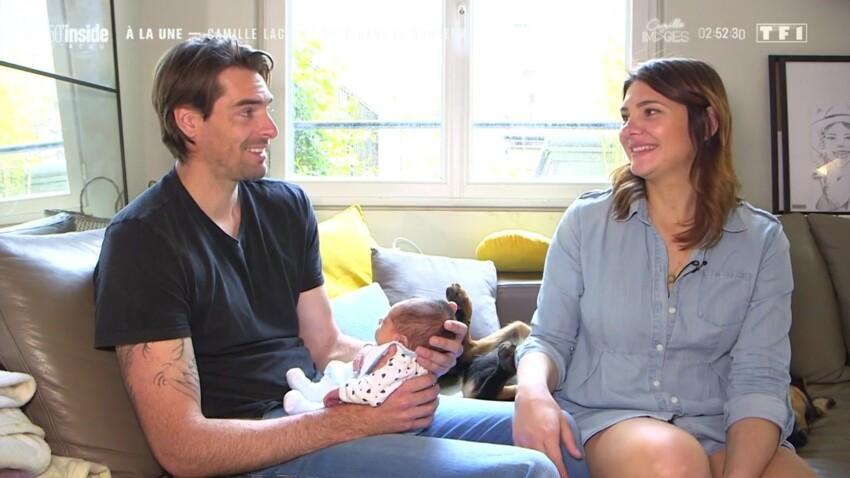 Camille Lacourt et Alice Detollenaere parents : ils racontent la genèse du prénom original de leur fils