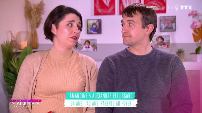 """""""Familles nombreuses, la vie en XXL"""" : Amandine Pellissard, trop dure avec son mari ? Les internautes réagissent"""