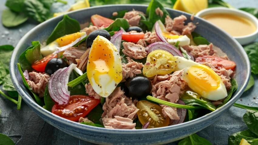 5 recettes de délicieuses salades d'été à base de thon