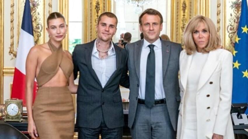 PHOTO - Quand Brigitte Macron fait un câlin à Justin Bieber !