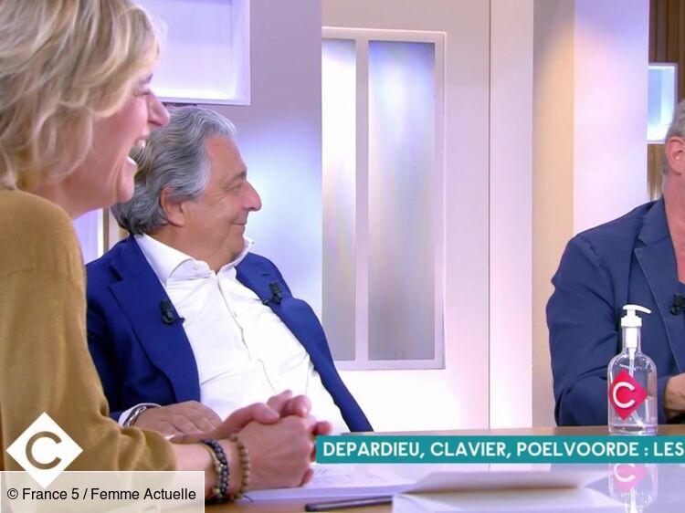 VIDÉO - Benoît Poelvoorde et Christian Clavier pris d'un fou rire en évoquant une scène avec Gérard Depardieu