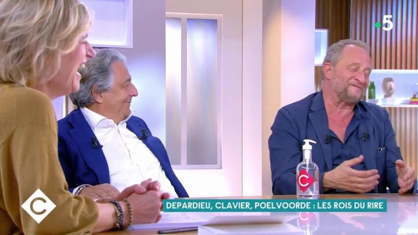VIDÉO - Benoît Poelvoorde et Christian Clavier : leur immense fou rire à cause de Gérard Depardieu