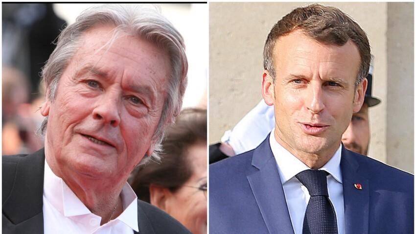 Alain Delon : son coup de gueule cinglant contre Emmanuel Macron