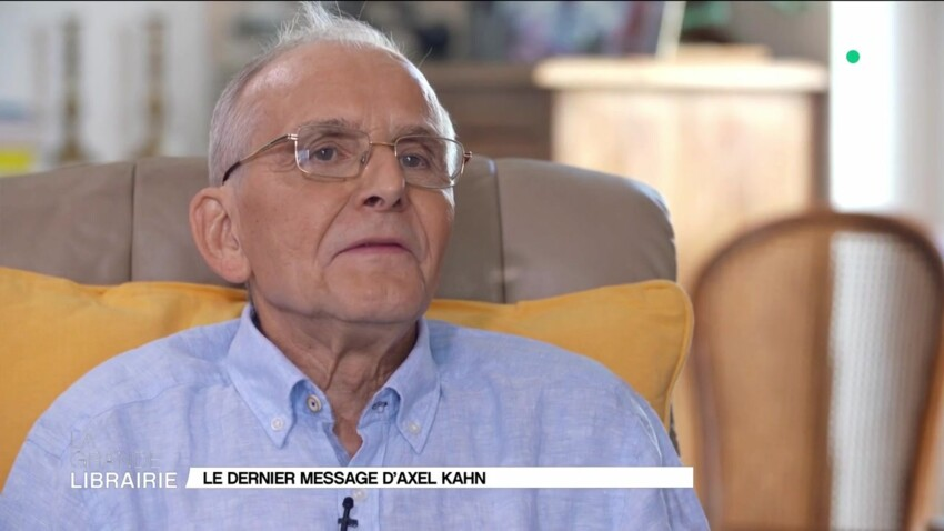 """VIDEO - Le généticien Axel Kahn, malade du cancer, livre sa dernière interview : """"La mort m'indiffère totalement"""""""