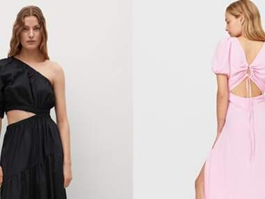 """Robe  tendance """"cut-out"""" : les plus beaux modèles de l'été 2021"""