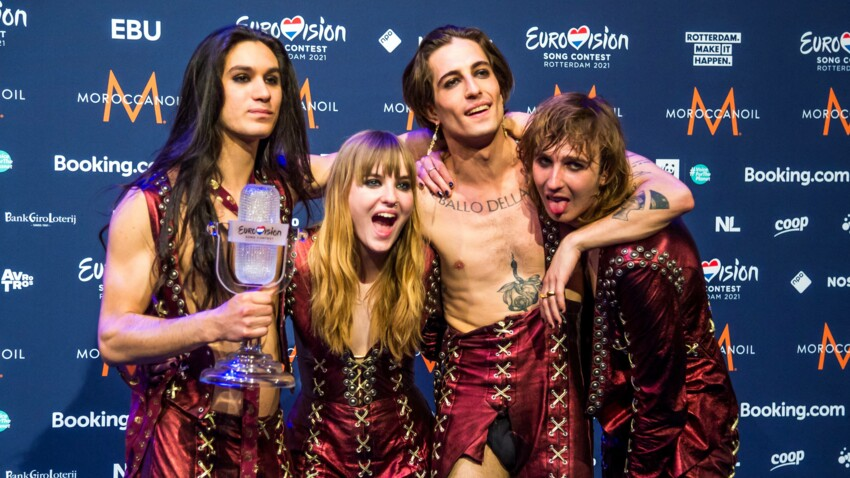 """Les Måneskin (""""Eurovision 2021"""") reviennent sur les rumeurs de drogue : """"Nous n'avons rien fait de mal"""""""