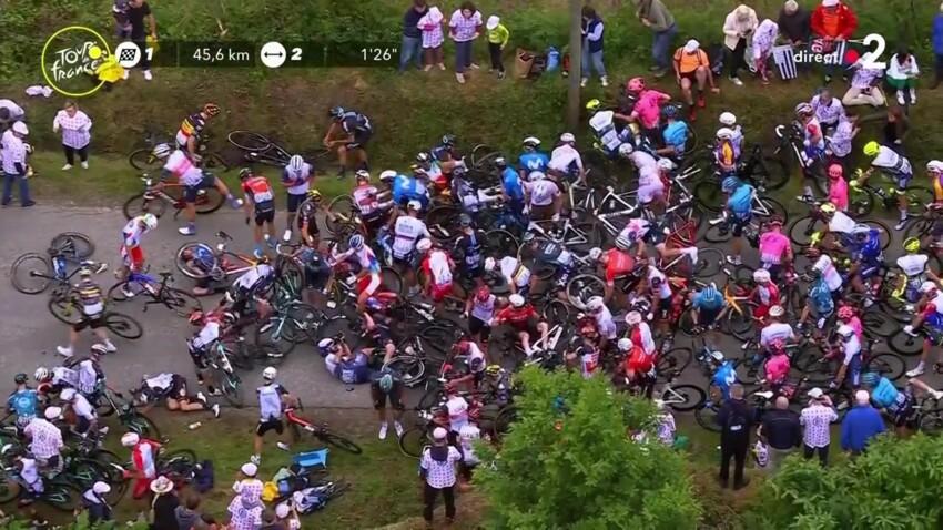 Tour de France : une spectatrice imprudente provoque une chute impressionnante, chaos dans le peloton