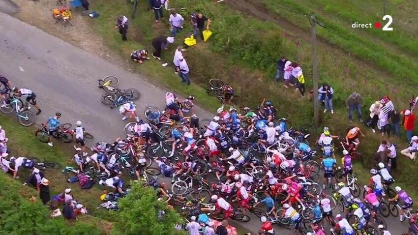 Tour de France : un appel à témoins pour retrouver la spectatrice responsable de la chute du peloton