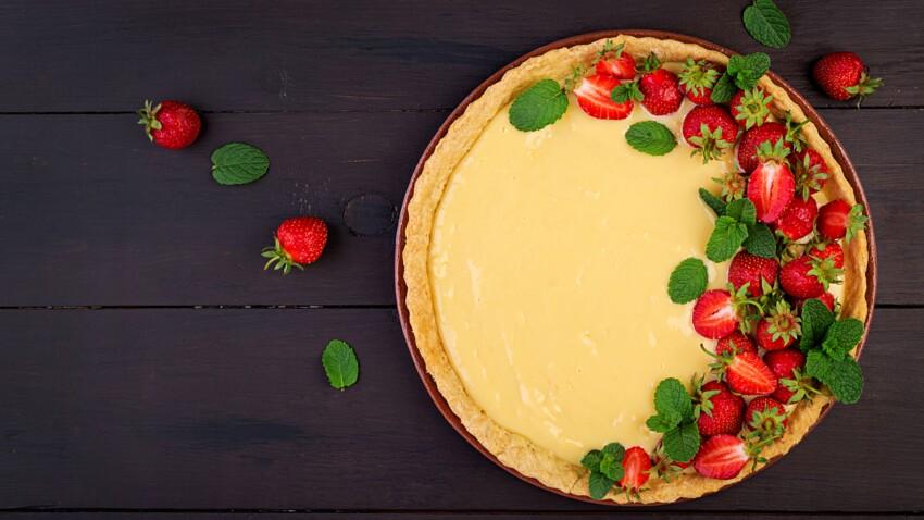5 recettes de crèmes légères et gourmandes pour garnir vos tartes