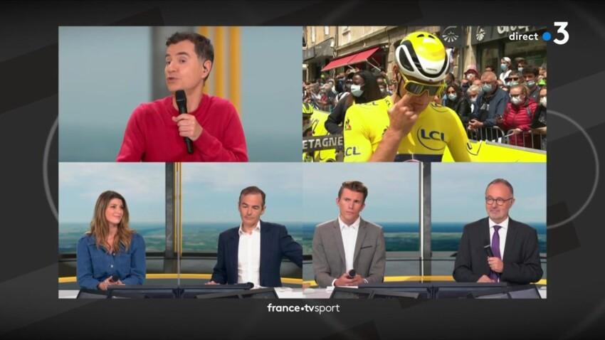 Tour de France 2021 : la bourde de Laurent Luyat sur la spectatrice qui a fait chuter les coureurs