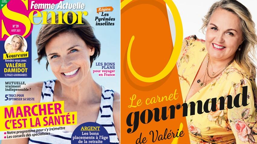 Valérie Damidot s'invite dans le nouveau Femme Actuelle Senior !