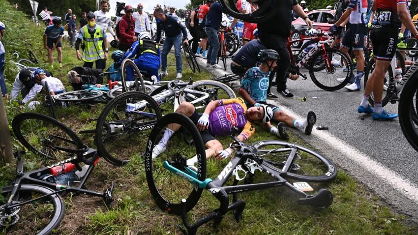Tour de France : identifiée, la spectatrice responsable de la chute a été placée en garde à vue