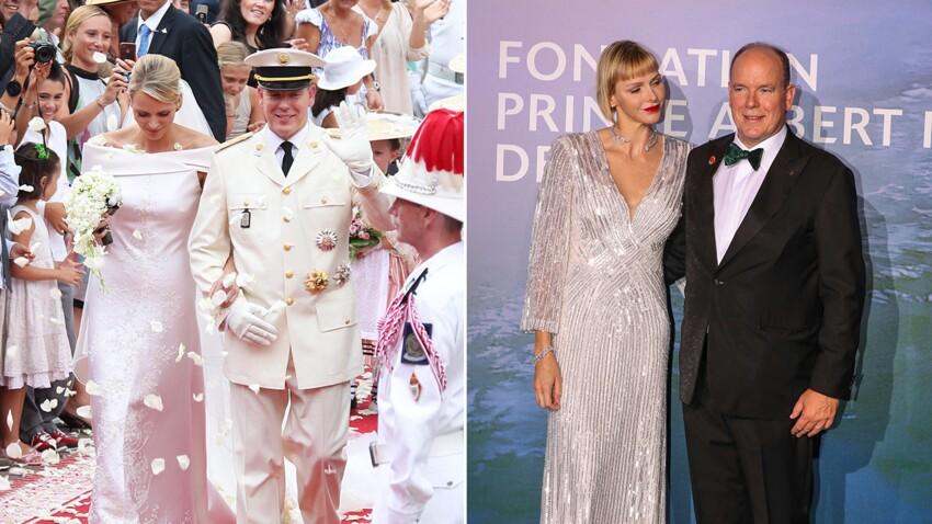 PHOTOS - Charlène et Albert de Monaco fêtent leur anniversaire de mariage : retour en images sur 10 ans d'amour