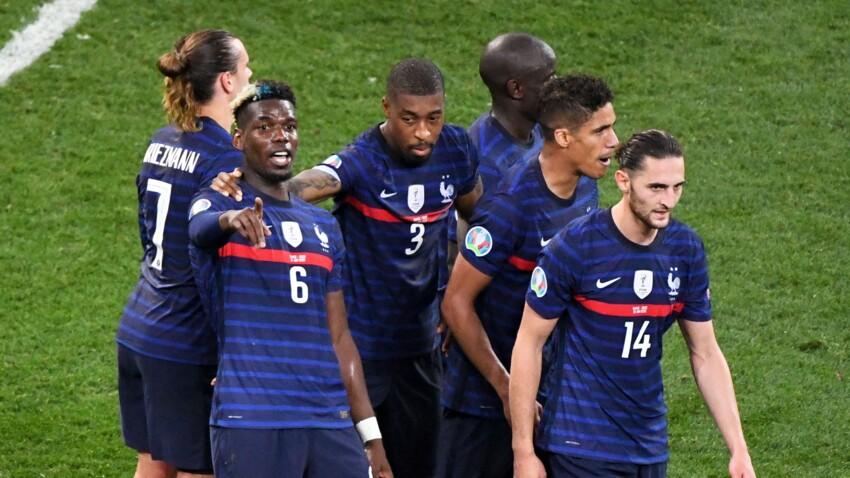 Euro 2021 : les images du clash entre la mère d'Adrien Rabiot et les parents de Mbappé et Pogba