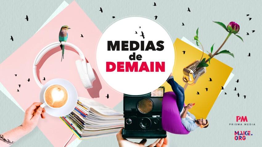 Comment les médias peuvent-ils améliorer votre quotidien ? Répondez à la consultation citoyenne lancée par Prisma Media avec Femme Actuelle !