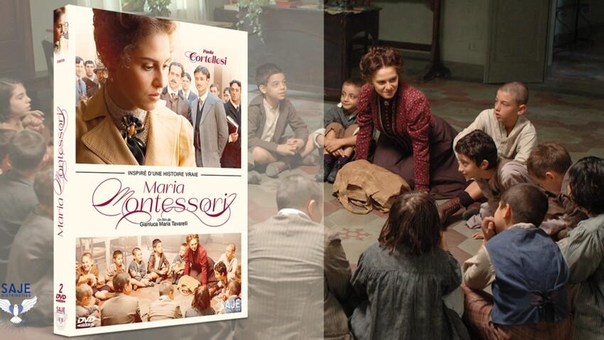 20 DVD du film MARIA MONTESSORI à gagner