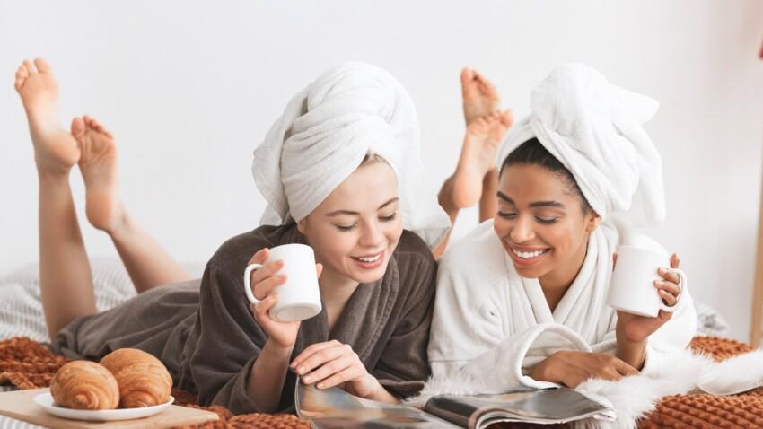 2ème raison de lire le magazine Femme Actuelle : c'est prendre soin de soi au quotidien !
