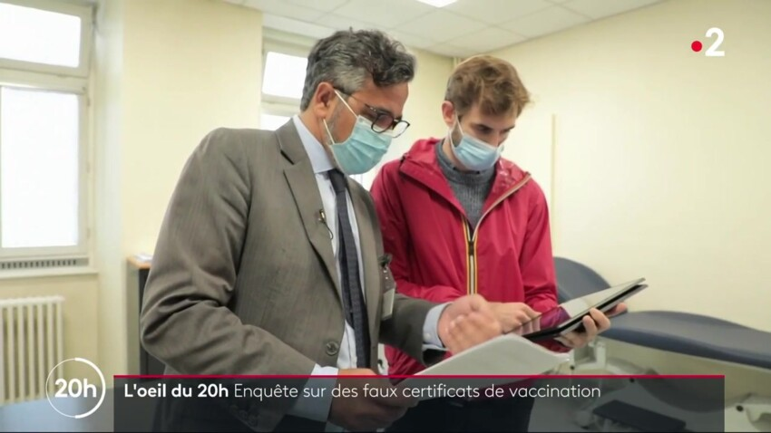 Faux certificats de vaccination : un trafic se déploie sur internet