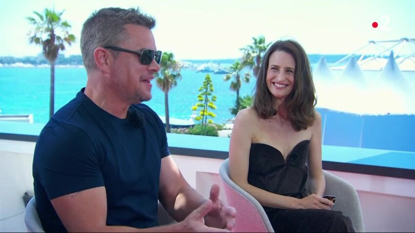 Matt Damon a-t-il apprécié les talents d'actrice de Camille Cottin ? Il répond