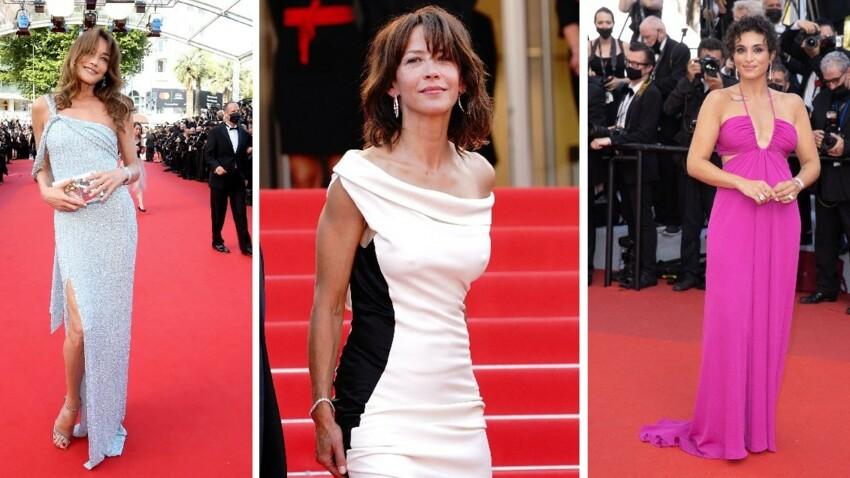 Cannes 2021 : Virginie Efira, Vanessa Paradis, Carla Bruni… Les plus beaux looks de stars en images