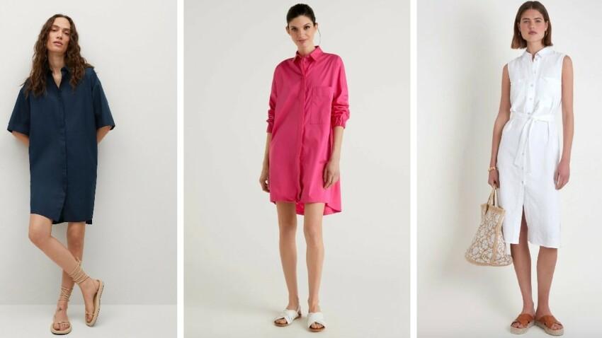 Robe chemise : comment bien la porter ? Conseils et nouveautés tendance