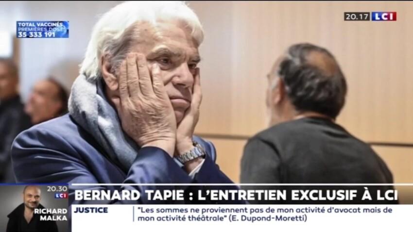 Bernard Tapie évoque son envie de mourir, son épouse Dominique réagit