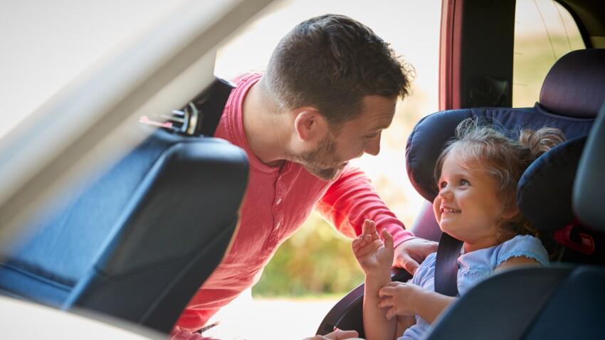 Siège auto et rehausseur pour enfant : jusqu'à quel âge ?