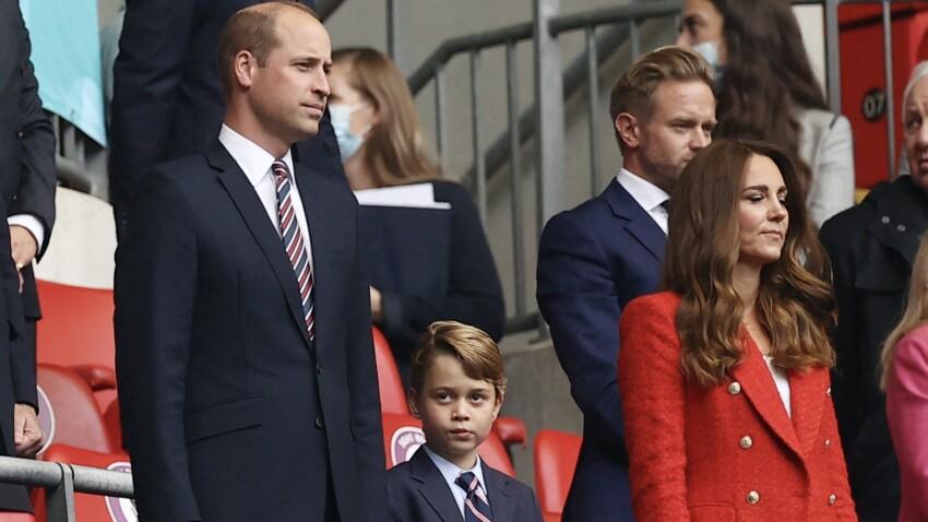 Euro 2021 : l'adorable vidéo du prince George avec ses parents au match de la finale fait fondre la Toile