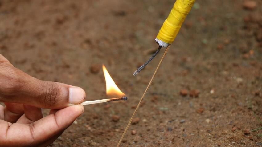 Pétards, feux d'artifice : quels sont les risques et comment réagir en cas d'accident ?