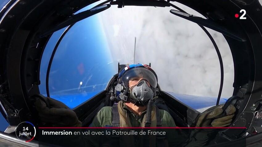 Défilé du 14 juillet : Julian Bugier moqué par les internautes après son vol avec la Patrouille de France