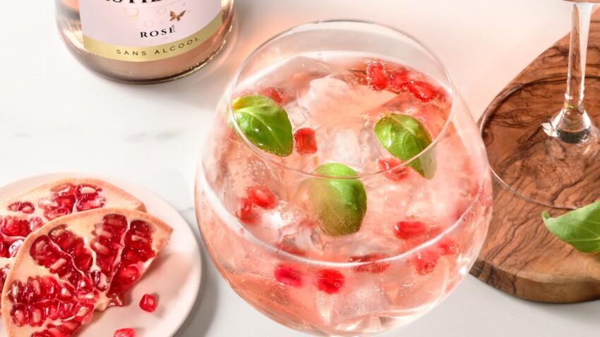 Mocktail Festi tonic rose