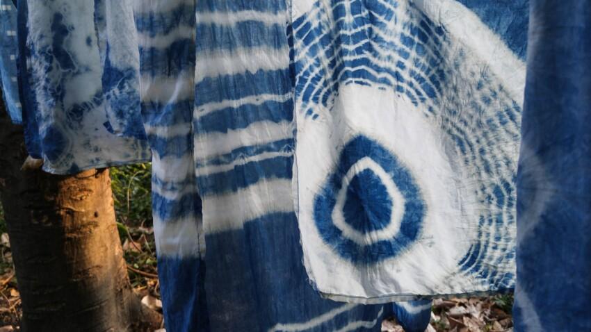 Shibori : la technique japonaise pour teindre des tissus