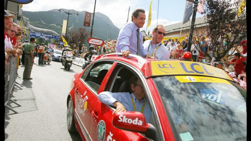 Cette fois où Nicolas Sarkozy a impressionné sur le Tour de France
