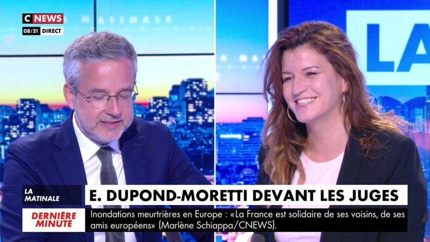 Éric Dupond-Moretti mis en examen : Marlène Schiappa ironise sur la situation