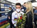 Marion Rousse célèbre la fin du Tour de France avec son compagnon Julian Alaphilippe