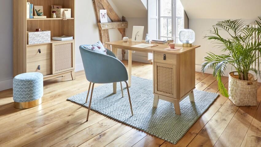 Nos super inspirations pour créer un coin bureau dans une chambre