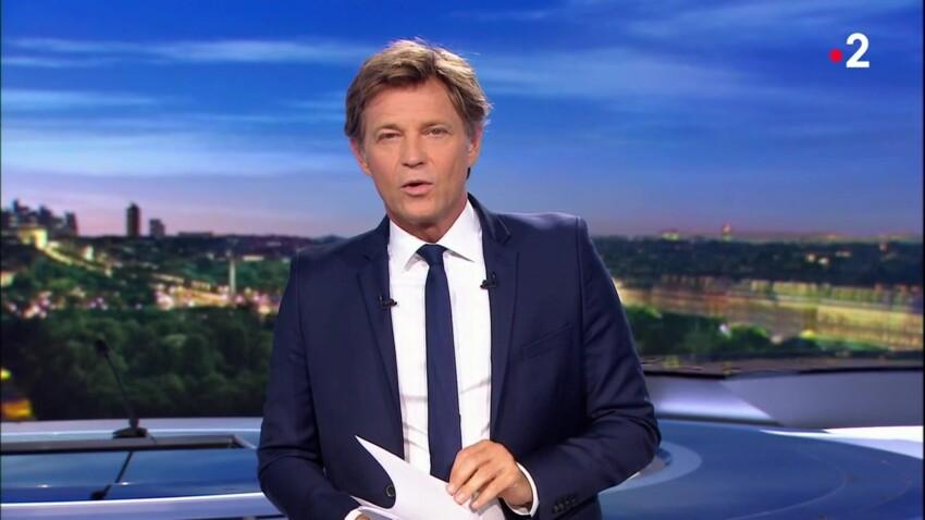 """Laurent Delahousse : son hommage, à la fin du JT, à celle qui l'a """"supporté pendant de nombreuses années"""""""