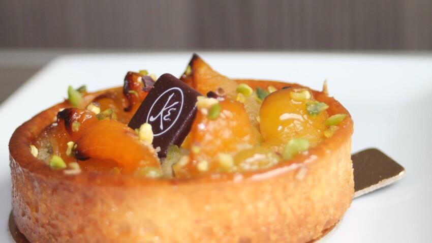 La super recette de la tarte abricot-pistache d'Éric Kayser