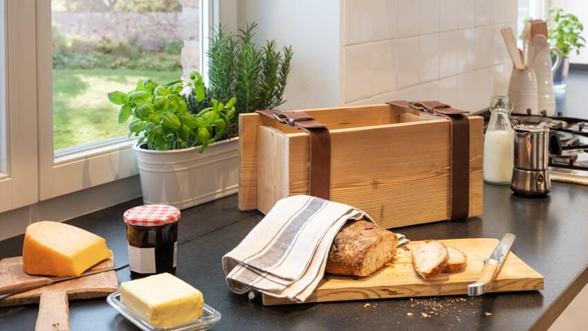 DIY : comment réaliser une boîte à pain rustique soi-même