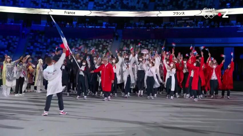 Jeux Olympiques de Tokyo : pourquoi la France s'est-elle fait remarquer lors de la cérémonie d'ouverture