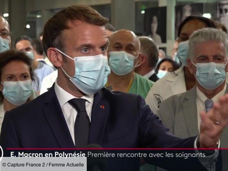 """VIDÉO - Covid-19 : Emmanuel Macron fustige """"l'égoïsme"""" et """"l'irresponsabilité"""" des antivax"""
