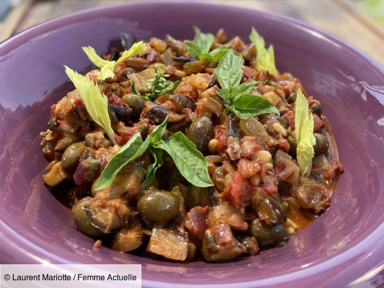 Caponata : la recette sicilienne revisitée par Laurent Mariotte