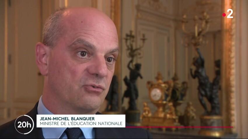 Ecole à distance pour élèves non-vaccinés, une mesure discriminatoire ? La réponse de Jean-Michel Blanquer