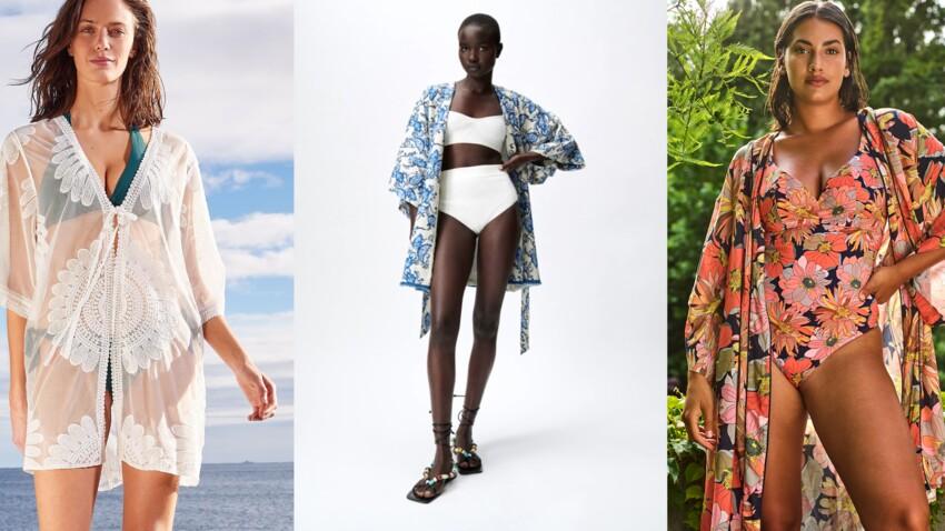 Kimono de plage : comment l'adopter avec style cet été ? Conseils et shopping tendance