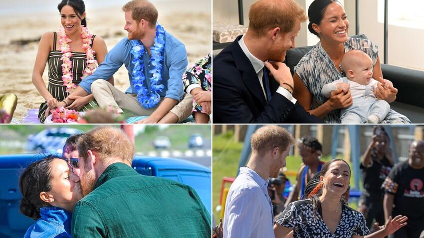 PHOTOS - 40 ans de Meghan Markle : ses plus belles photos avec le prince Harry
