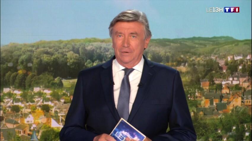 """Jacques Legros en larmes : le journaliste bouleversé par une annonce lors du """"JT de 13h"""""""