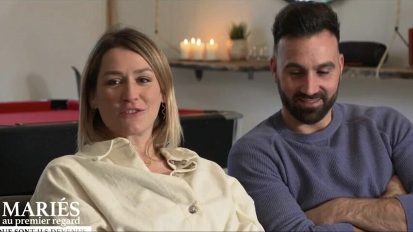 """Laure (""""Mariés au premier regard 5"""") : enceinte, elle évoque sa prise de poids depuis son mariage avec Matthieu"""
