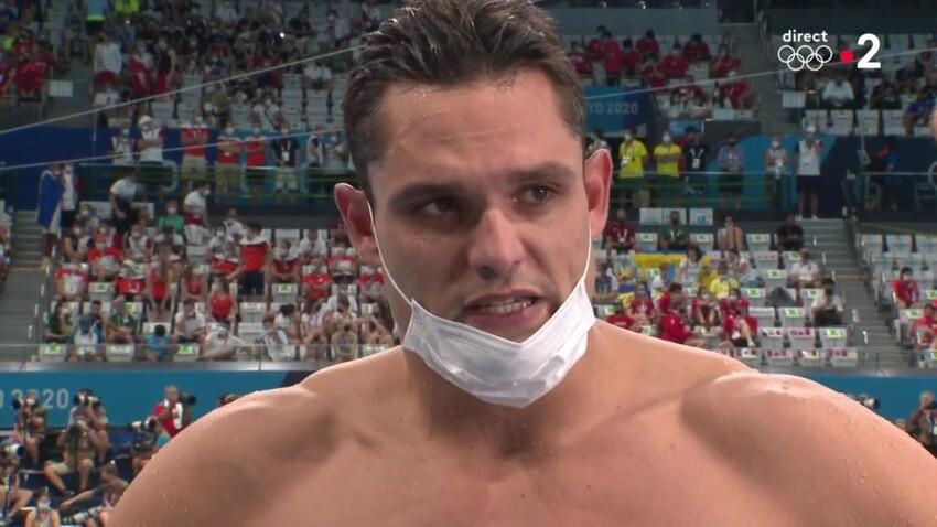 Florent Manaudou médaillé aux Jeux Olympiques : le nageur s'effondre en larmes en direct